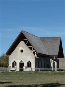 Église à Fort Randall, Dakota du Sud