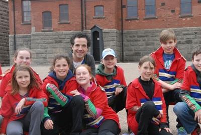 Un groupe d'élèves de l'émission le 5e élément.