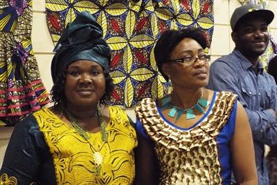 Marie-Louise Bonson et Georgette Kasongo, organisatrices