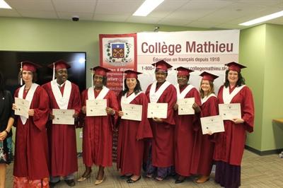 Les lauréats de la promotion 2014 du Collège Mathieu