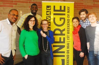 Le comité Cinergie 2014.