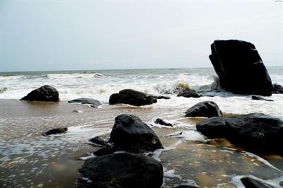Les belles plages de la cité balnéaire de Kribi dans le sud du pays. Sur le plan géographique, le Cameroun est un pays magnifique.