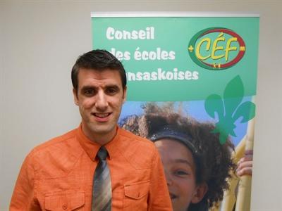 Sébastien Fillion , coordonnateur des systèmes d'information au CÉF