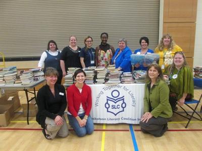 Les membres de la Saskatoon Litteracy Coalition