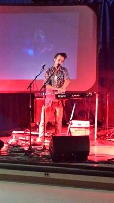 Mario Lepage en spectacle à l'Institut français de Regina