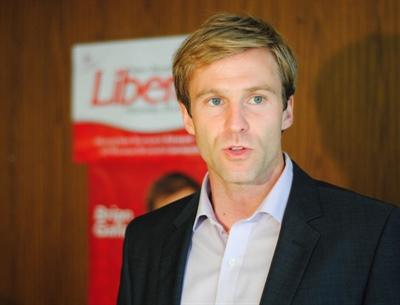 Brian Gallant, premier ministre du Nouveau Brunswick