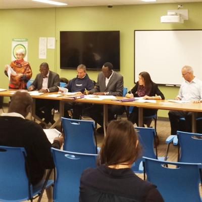 Assemblée générale extraordinaire de l'Association canadienne-française de Regina, le 6 octobre 2014.