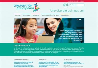 Immigration francophone