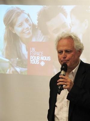 Pierre Guérin, directeur général de Radio-Canada dans l'Ouest canadien