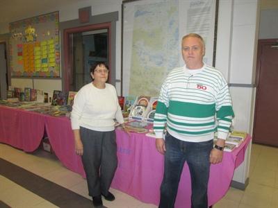 Maria et Henri Lepage sont la Mère et le Père Noël du livre francophone en Saskatchewan.
