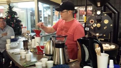 Dégustation de café au Dr. Java de Prince Albert