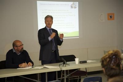 Rencontre d'information du CÉF à Lloydminster, le 26 novembre 2014