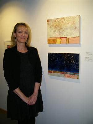 Vernissage d'Anne Brochu Vernissage le 28 novembre 2014 au Nouveau Gallery