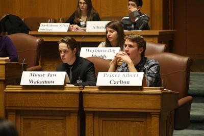 Parlement jeunesse fransaskois 2014