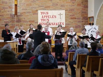 Concert de Noël de la chorale le Choeur des Plaines