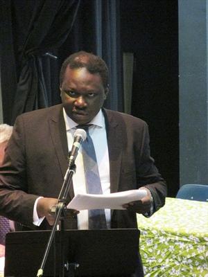 Ronald Ajavon, Directeur général désigné aux affaires  au Conseil des écoles fransaskoises