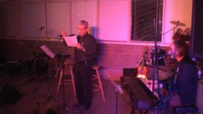 Raoul Granger a lu quelques uns de ses poèmes accompagné par Jean-Pierre Picard au piano.