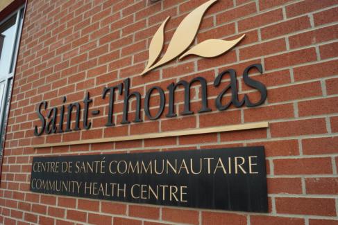 Centre de santé communautaire Saint-Thomas à Edmonton, Alberta