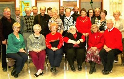 Participants aux activités des aînés à St-Denis le 7 décembre 2014