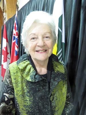 La sénatrice manitobaine Maria Chaput