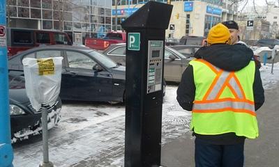 Nouveaux parcmètres à Saskatoon