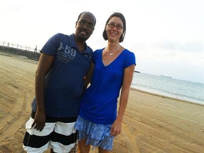 Ahmed Hassan Farah et son épouse