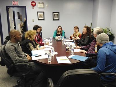 Rencontre du conseil d'administration de l'ARCOT à Plamondon, Alberta, du 19 au 22 mars 2015