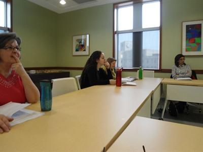 Atelier de communication médicale à la Foire des générations