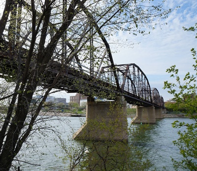 Pont Traffic à Saskatoon
