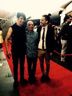 Mehdi Hamdad, Shawn Jobin et Mario Lepage au Gala Trille Or 2015