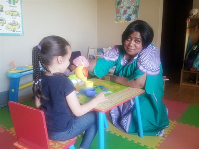 Charlotte Mabika, propriétaire d'une garderie en milieu familial à Saskatoon