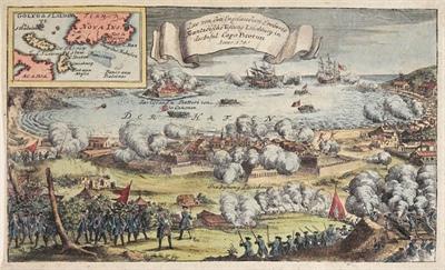 Prise de Louisbourg