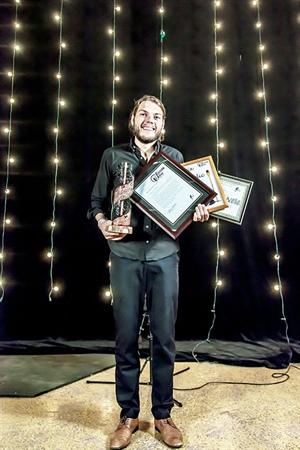 Étienne Fletcher, lauréat du Gala Nouvelle scène 2015