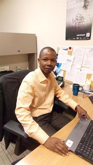 Marcel Rachid, assistant aux projets à l'ACFR, a travaillé à la création de l'association Famille de l'Espoir au Burundi.