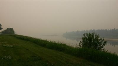 La région de Prince Albert est envahie par la fumée des feux de forêt