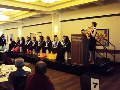 Graduation 2015 à l'École canadienne-française de Saskatoon