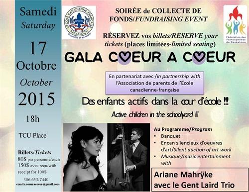 Gala Coeur à coeur 2015