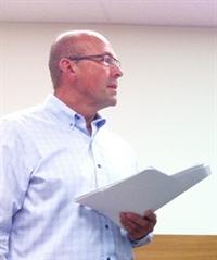 André Denis, président du Conseil scolaire fransaskois (CSF)