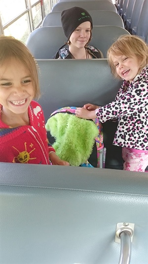 Les filles de Karla Kloeble: Willow, Ivy et Autumn