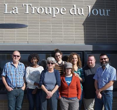 L'équipe de la Troupe du jour - septembre 2015