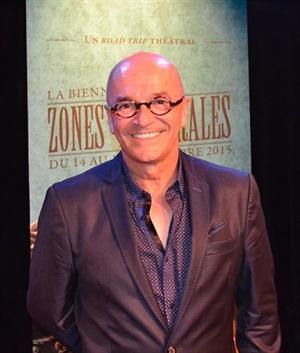 René Cormier, directeur artistique de Zones Théâtrales