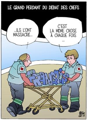 La francophonie canadienne était absente du débat des chefs tenu en français
