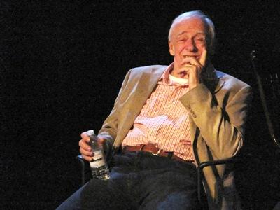 Pierre Collin a rencontré le public après la représentation de la pièce Le chant de Georges Boivin à La Troupe du Jour