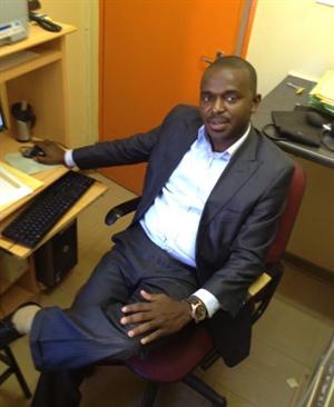 Dr. Félix Matondo Ibwilakwingi, médecin au Botswana