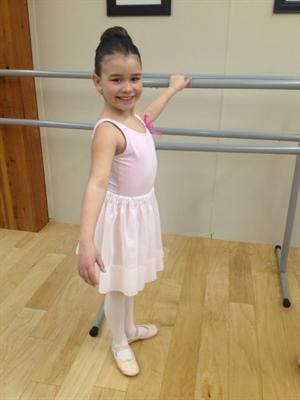 Alyssa Sinclair, jeune danseuse de Prince Albert
