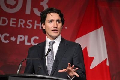 Justin Trudeau, élu premier ministre du Canada le 19 octobre 2015