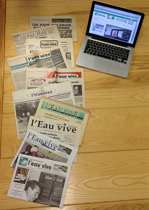 Promo - l'Eau vive écrit l'histoire