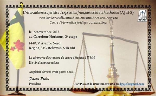 Lancement du Centre d'information juridique