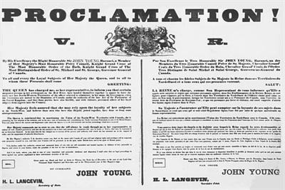 Proclamation TNO - origimal