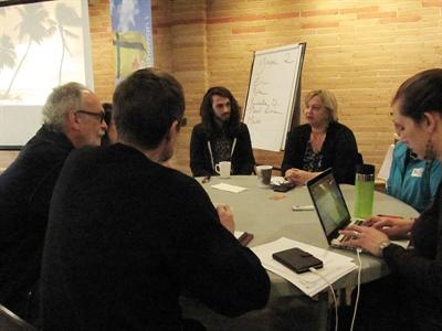 Une quinzaine de personnes ont participé à un atelier à Saskatoon visant l'implantation d'un marché virtuel fransaskois.